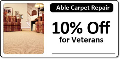 Living Room, Carpet Repair in Jacksonville, FL